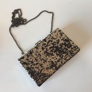 Sequin box clutch from Urban Outfitters